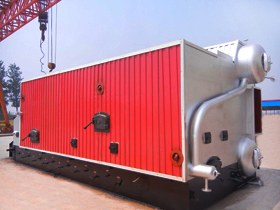 Wood pellet/Charcoal Steam boiler